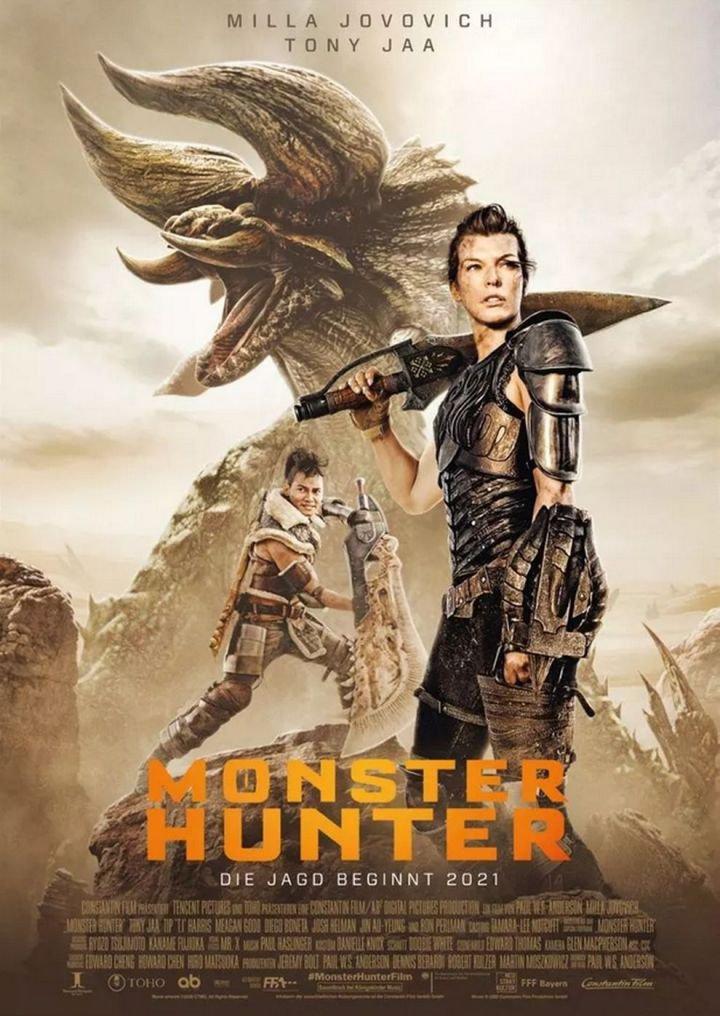 Monster Hunter Filmplakat